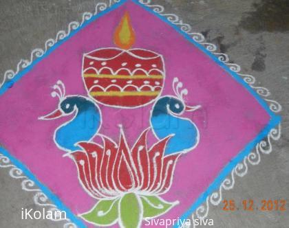 Rangoli: marghazhi kolam