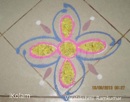 Rangoli: Onam Poo Kolam