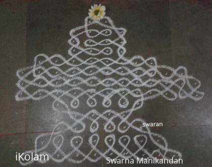 Rangoli: #Shivarathri special #Sikkukolam