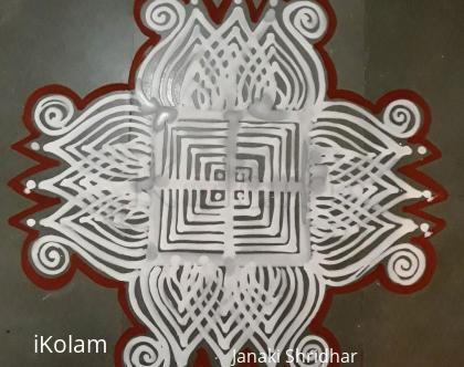 Rangoli: Daily Maavu Kolam