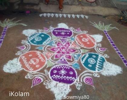 Rangoli: Sudha-Pongal-2014