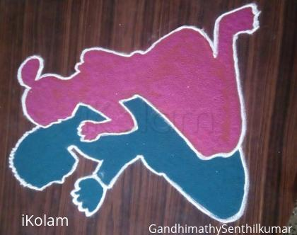 Rangoli: Prayers for peace