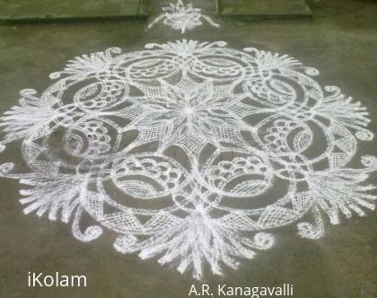 Rangoli: A.R.Kanagavalli margazhi rangoli