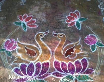 Rangoli: Ducks