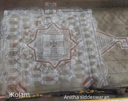 Rangoli: Pongal's traditional kolam