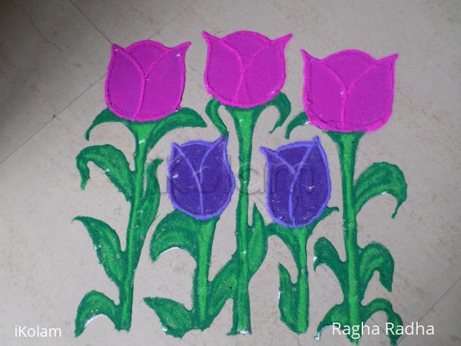 Rangoli: NavaRathri 9thDay