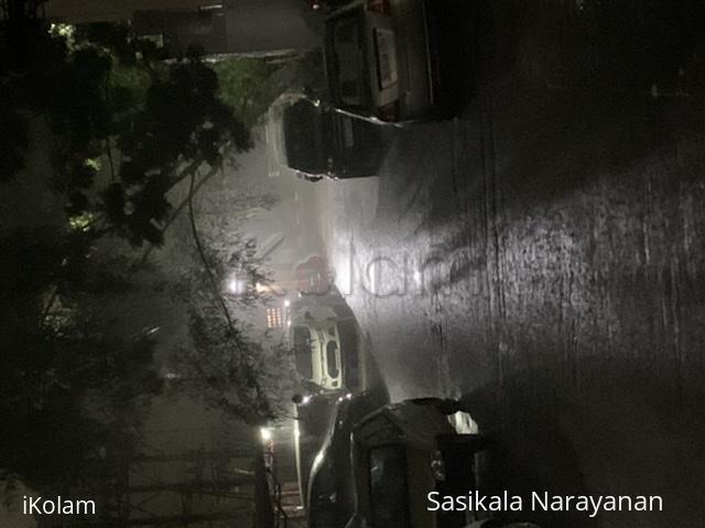 On a rainy day -
