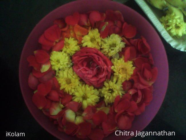 Floating flowers -