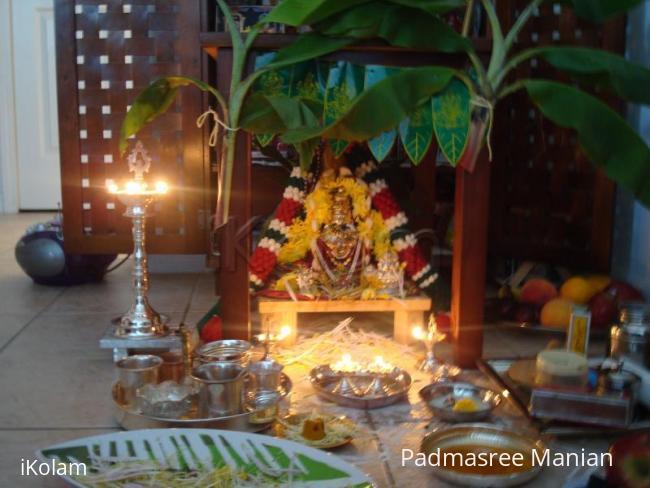 Rangoli: Varalakshmi vratham