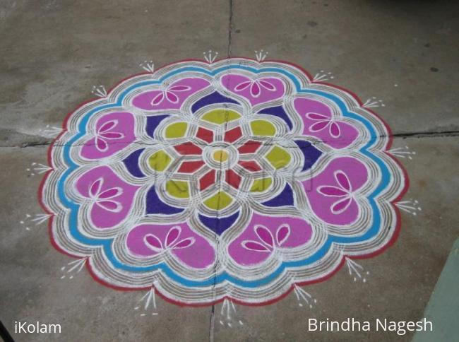 Rangoli: A colourful rangoli