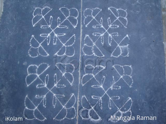 Rangoli: Margazhi masa kolam