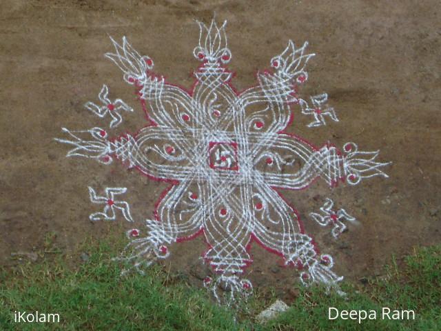 Rangoli: navarathri kolams