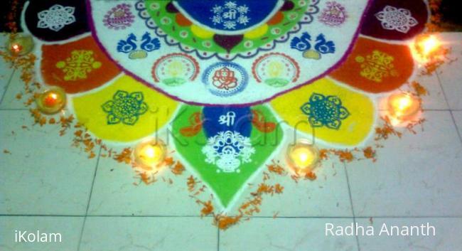 Rangoli: Deewali rangoli Contest 2009