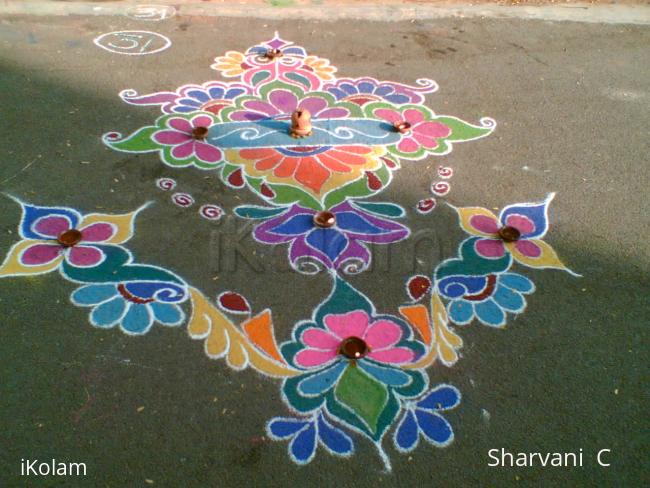 Rangoli:  Diwali Design (sharu)
