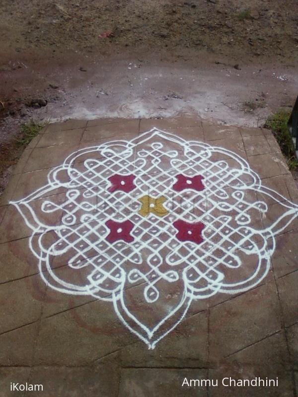 Rangoli: inspirational kolam again.