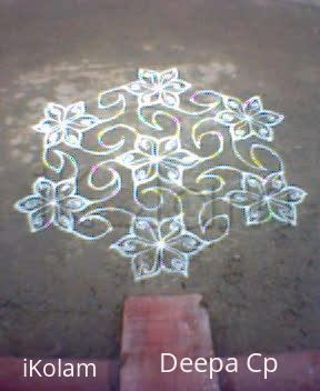 Rangoli: Margazhi kolam-7