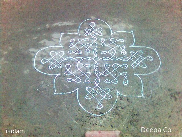 Rangoli: Margazhi kolam-9