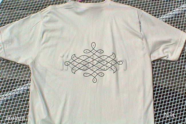 Rangoli: T-shirt art