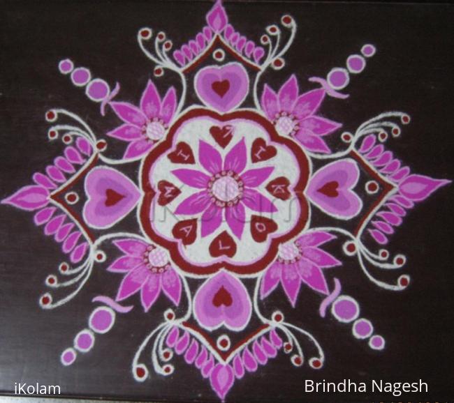 Rangoli: Happy Valentine's Day !