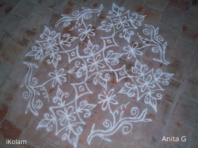 Rangoli: MY SPECIAL KOLAM