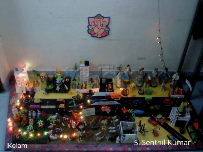 Rangoli: My Golu