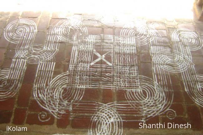 Rangoli: my piece of work