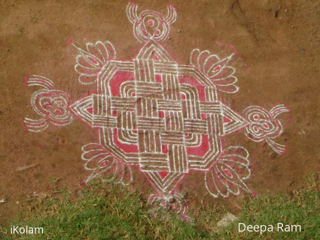 Rangoli: navratri kolams