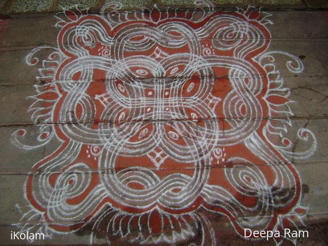 Rangoli: Tribute kolam