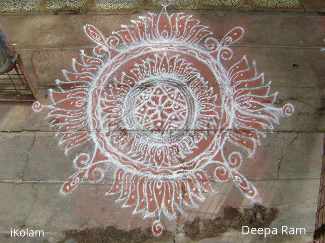 Rangoli: Purataasi saturday kolam