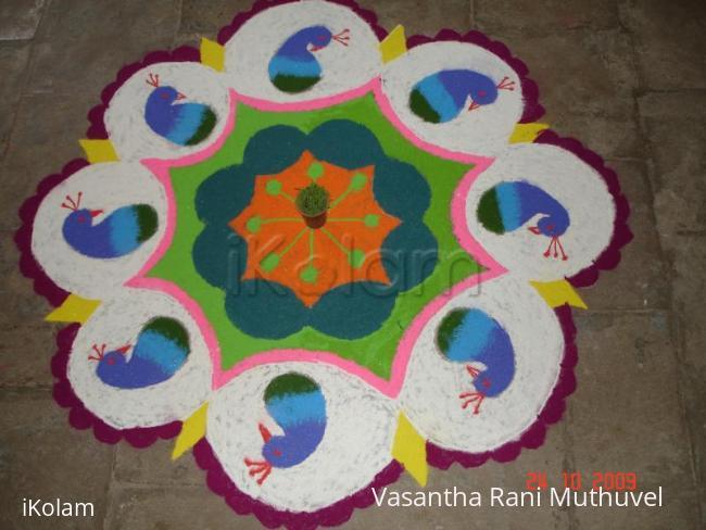 Rangoli: Kalyana Kolam - Wedding kolam