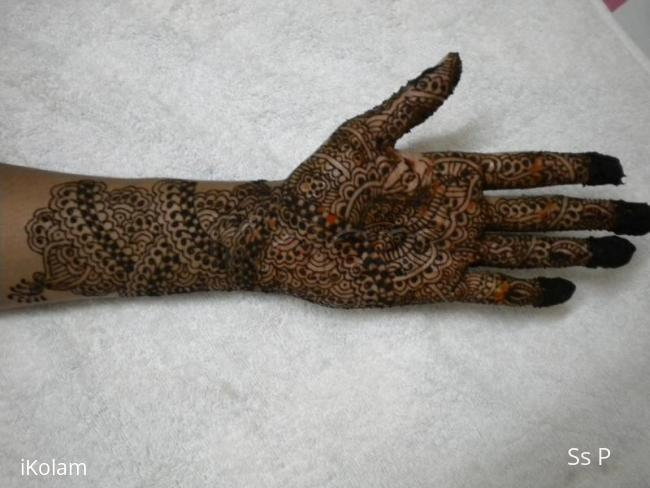 Rangoli: my mehendi design4