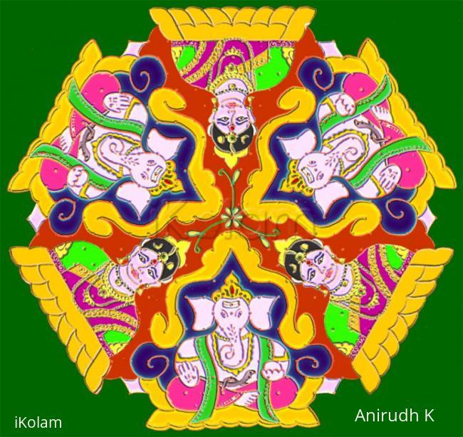 Rangoli: Happy Gowri Ganesha Chathurthi