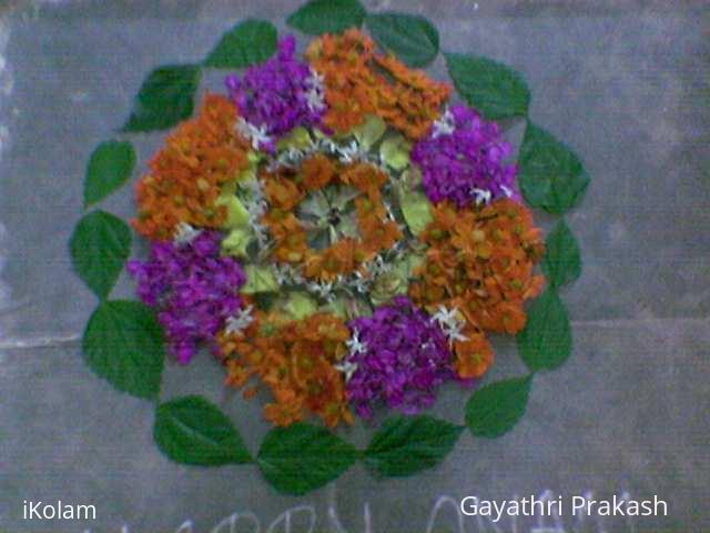 Rangoli: Pookolam for Onam