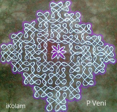 Rangoli: Sikku Kolam - 43