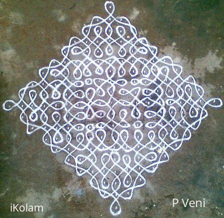 Rangoli: Sikku Kolam - 36