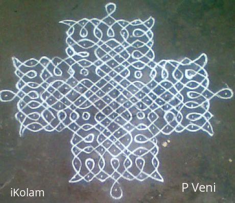 Rangoli: Sikku Kolam - 20