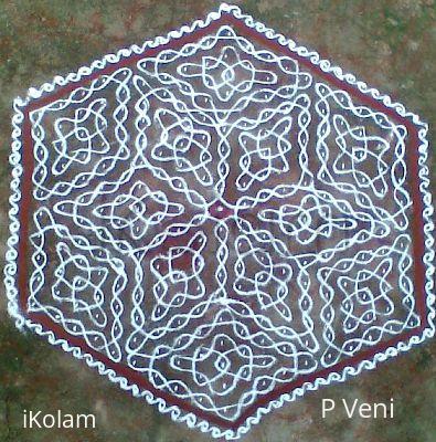 Rangoli: Sikku Kolam - 39