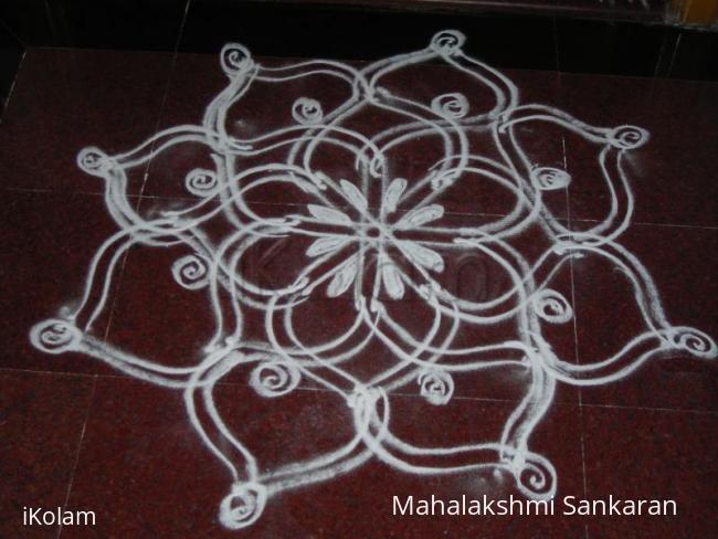 Rangoli: Navarathri day -4