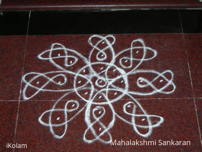 Rangoli: Navarathri day-5