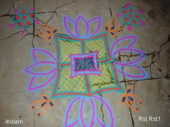 Rangoli: Net Design