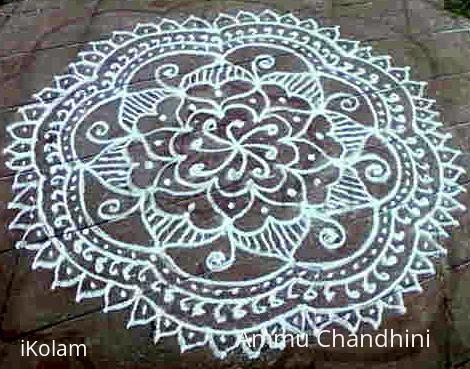 Rangoli: Free Hand Design