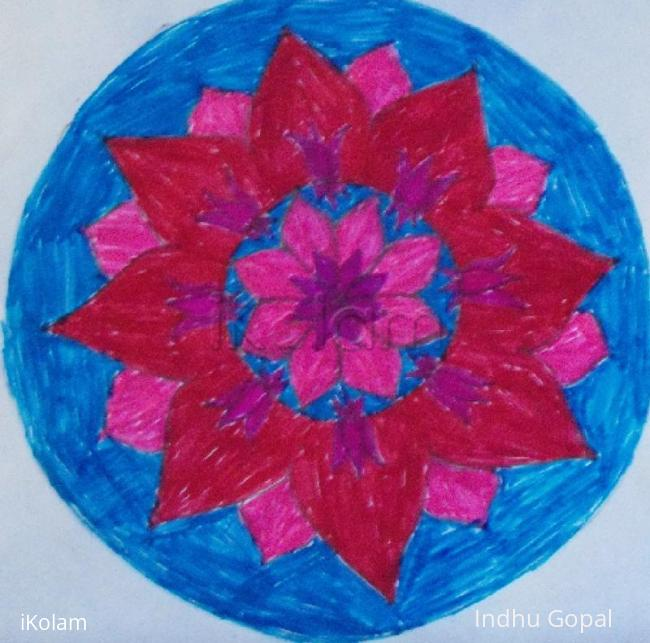 Rangoli: FlowerPatch- lotus