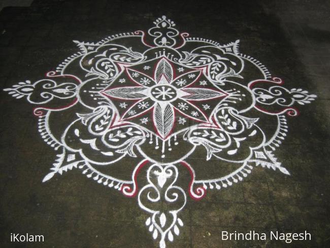 Rangoli: Varalakshmi Viradham Spl