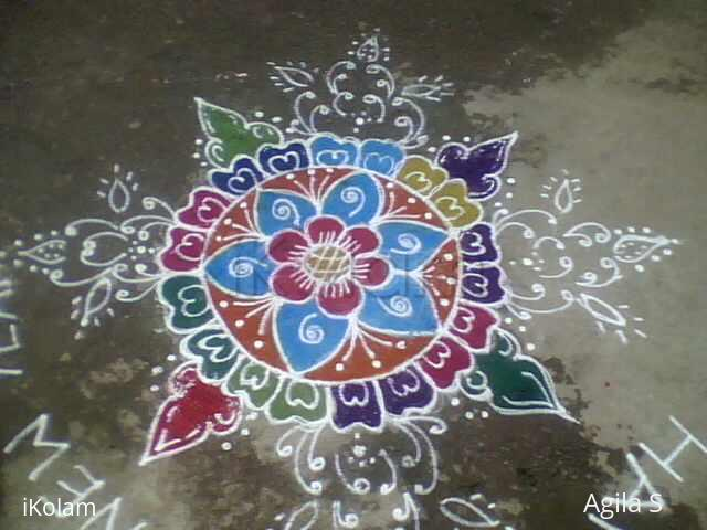 Rangoli: My new year rangoli