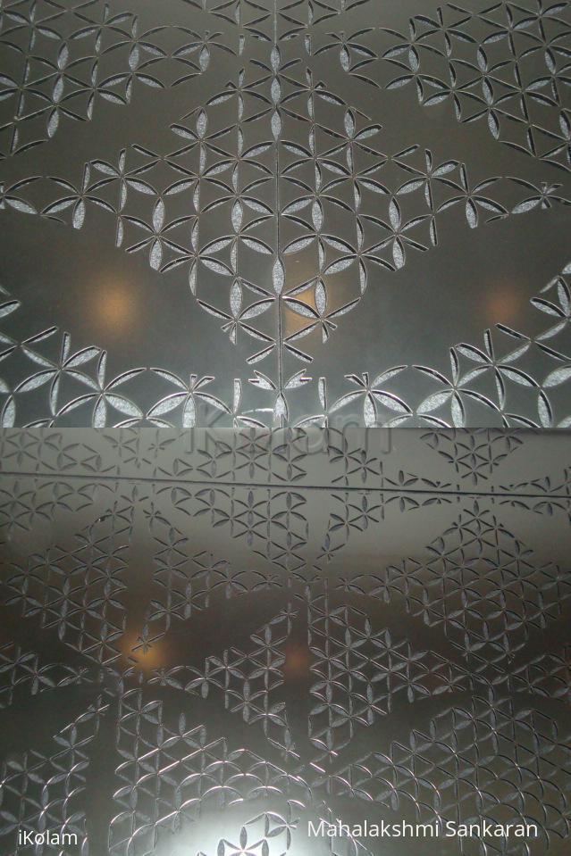 Rangoli: Wall designs in Burj Khalifa