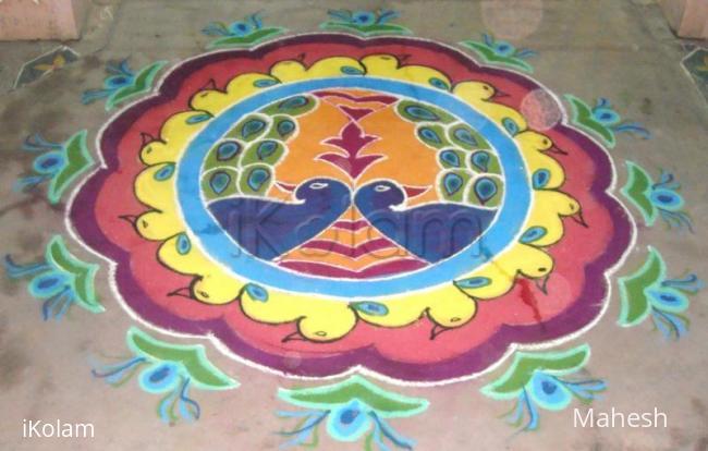 Rangoli: my margali kolam