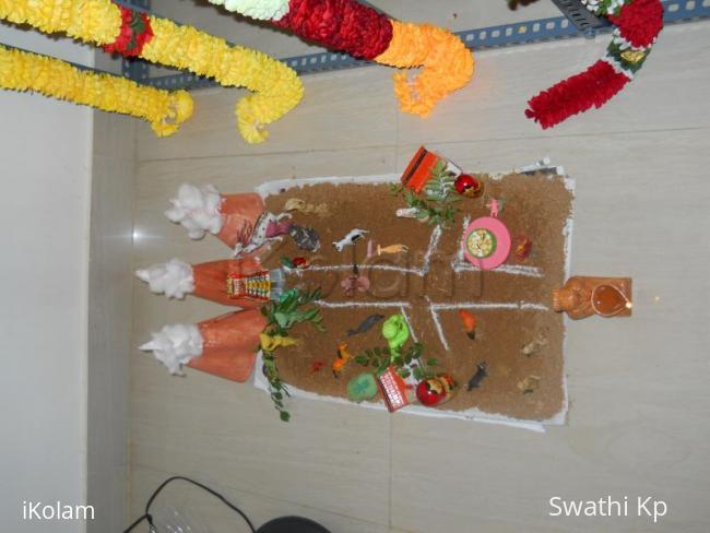 Rangoli: navarathri golu 2