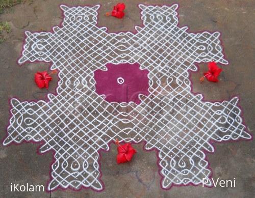 Rangoli: Sikku Kolam - 69
