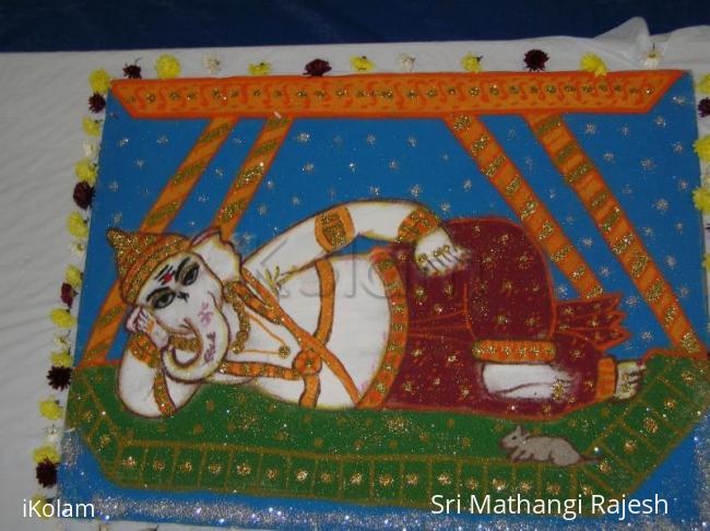 Rangoli: Ganesha for Diwali contest!