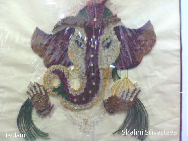 Rangoli: Quilling